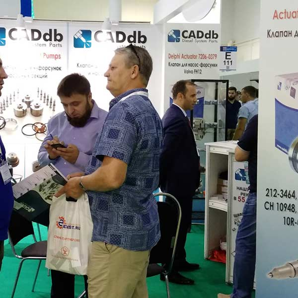 CADdb Automechanika Moscow 2017 Fair