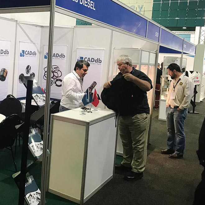 CADdb Automechanika Johannesburg 2017 Fair